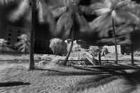 Hollywood Beach Florida Infrared
