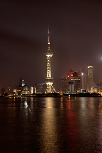 Oriental Pearl Tower Shanghai China HDR
